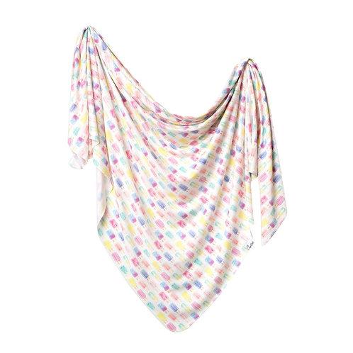 Knit Swaddle Blanket Summer