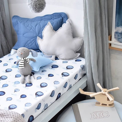 Cot Sheets - Cloud Chaser