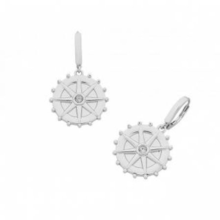 Silver Millicent Earring