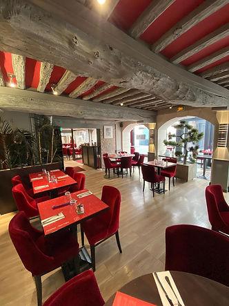 Salle interieur maison d'italie pizza Caen