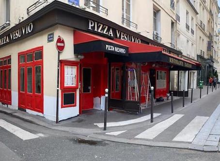 Réouverture de notre pizzeria à Saint-Germain-des-Prés !