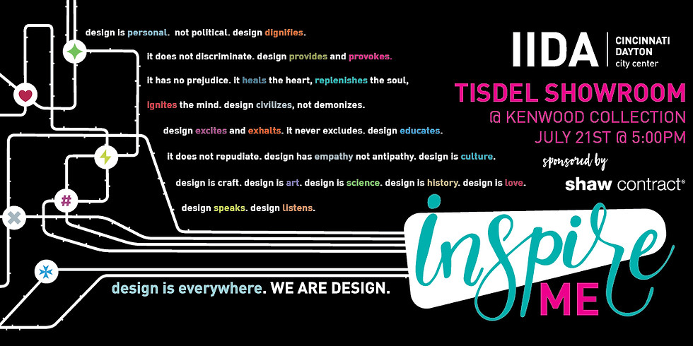 Cincinnati/Dayton's Inspire Me Series: Tisdel Showroom
