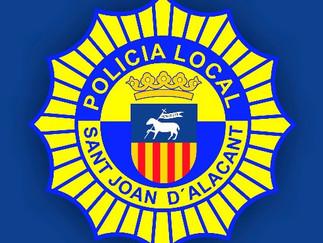 Bases y convocatoria 3 plazas de Policía Local Ayto. San Joan d'Alacant
