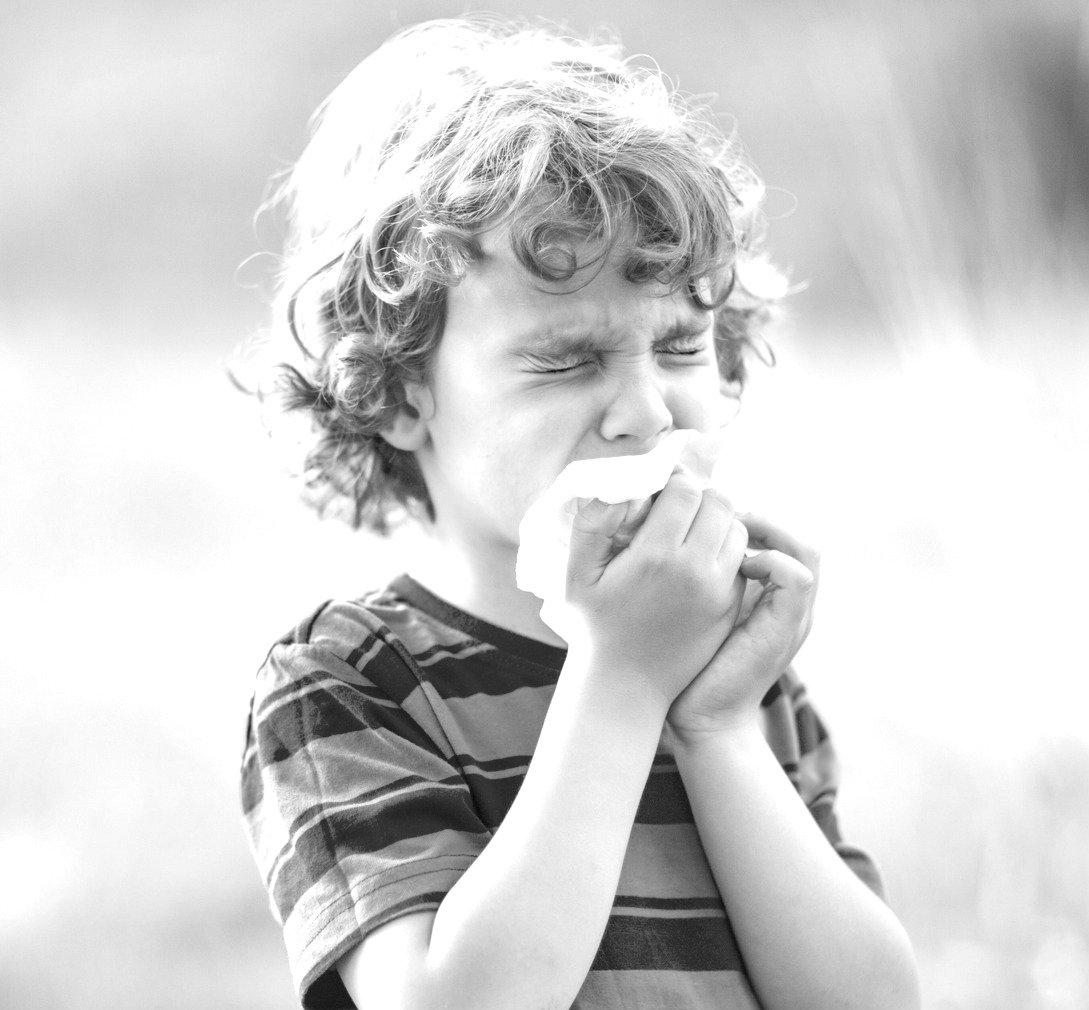 Allergi test og 1. behandling