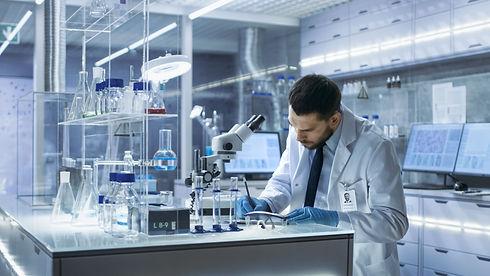 Research Scientist Writes Down Observati
