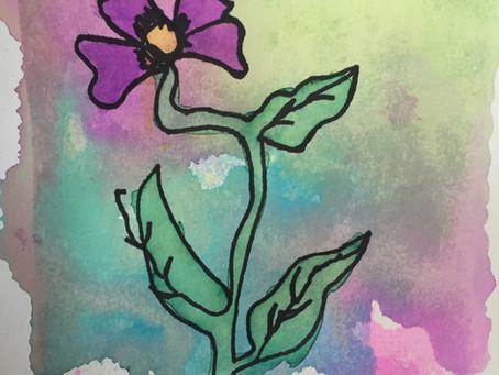Wildflower Watercolor Prints
