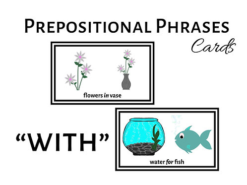 "Expanding Utterances with ""WITH"" Prepositional Phrases"