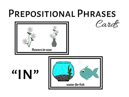 "Expanding Utterances with ""IN"" Prepositional Phrases"