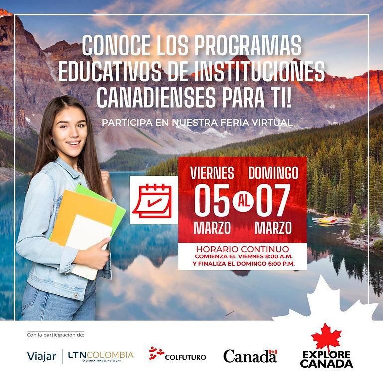 Feria explore Canadá 2021