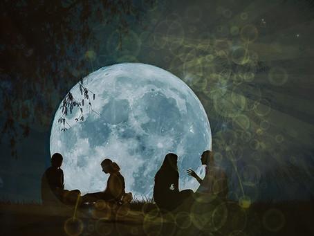Wolf Full Moon Ritual