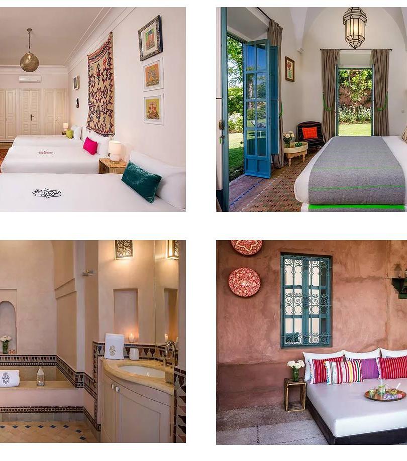 The rooms at Villa Matafa