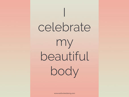 Body Positivity and Affirmations