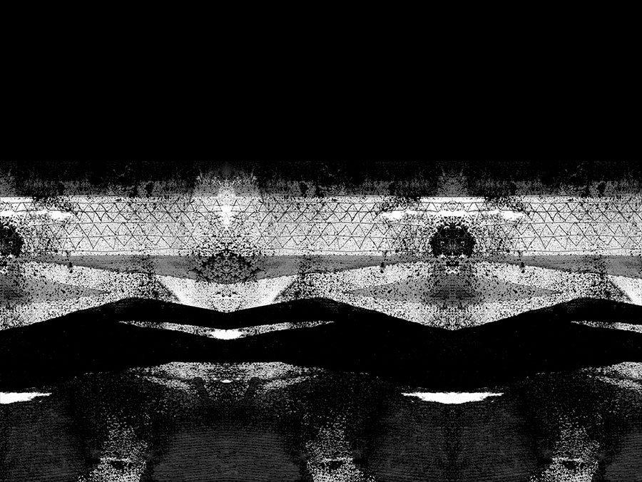 Silja Levälampi, tunturi pattern