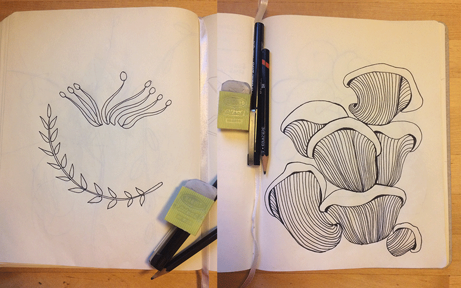 Silja Levälampi, Siimekseen pattern illustration
