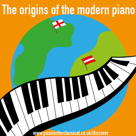 The origins of the modern piano