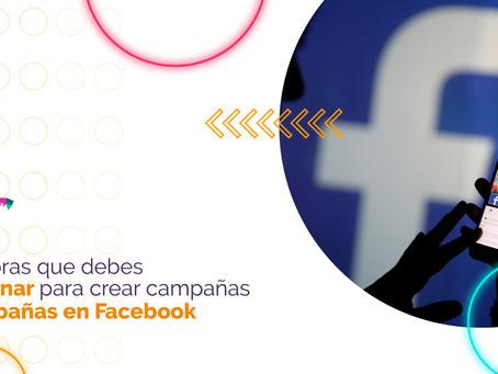 Palabras que debes dominar para crear una promoción exitosa en Facebook.