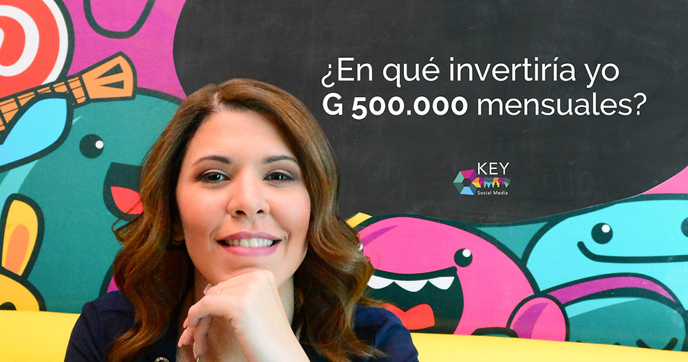invertir G 500.000 para aumentar tus ventas.