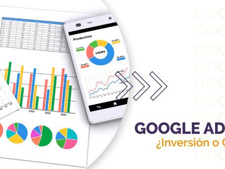 Google Ads: ¿inversión o gasto?