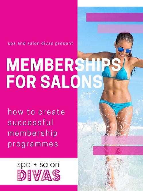 Memberships for Salons
