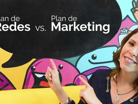 ¿Plan de redes o plan de marketing? ¿Sabés en cuál invertir?