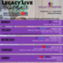 week_of_6_29_legacy_live_schedule.png