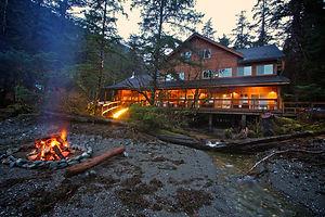 Noyes Island Resort Cedar Residence Steamboat Bay Alaska