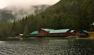 Noyes Island Resort The Lodge Steamboat Bay Alaska