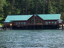 Noyes Island Resort Haida Spruce House Steamboat Bay Alaska