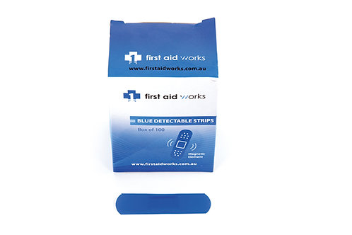 Blue Detectable Adhesive Strips