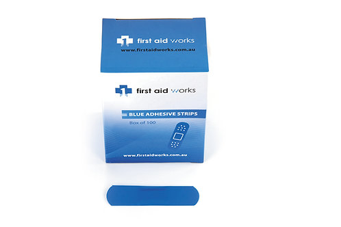 Blue Adhesive Strips