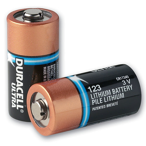 Type 123A Lithium Batteries (pack of 10)