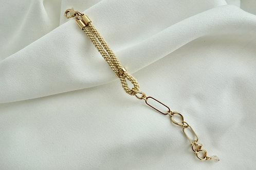 oval chainブレスレット