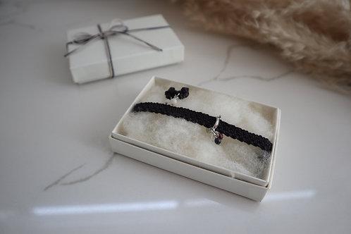 Noël box ・ black purple