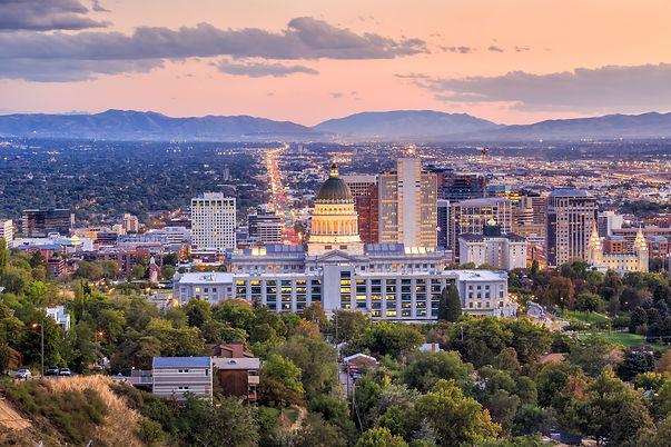 Salt Lake City skyline Utah at night.jpg
