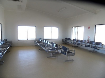BEDOURIE AIRPORT TERMINAL BUILDING