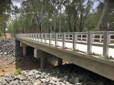 BOOLBURRA BRIDGE CONSTRUCTION