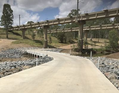 AROONA ROAD - DAWSON RIVER NEW FLOODWAY CROSSING