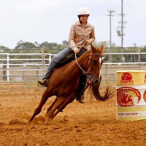 GBA SPONSORS OUTBACK BARREL HORSE CIRCUIT