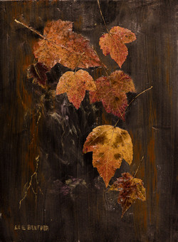 Autumn, Collage & Interference Acrylic P