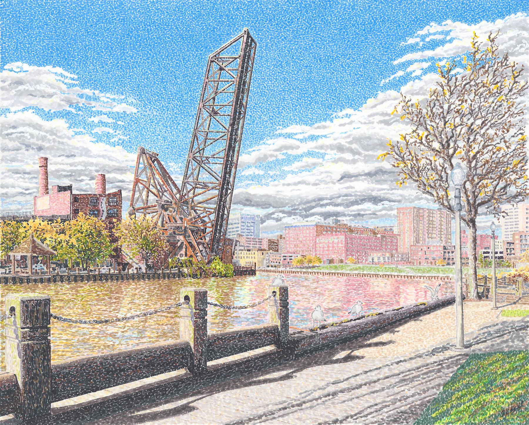 Cuyahoga River Walk
