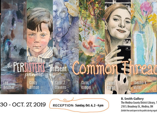 The PerSisters present Common Threads, thru October 27