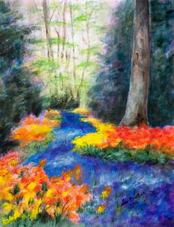 Floral Pathway, Pastel