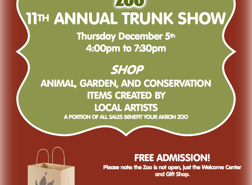 2019 Akron Zoo Trunk Show, December 5