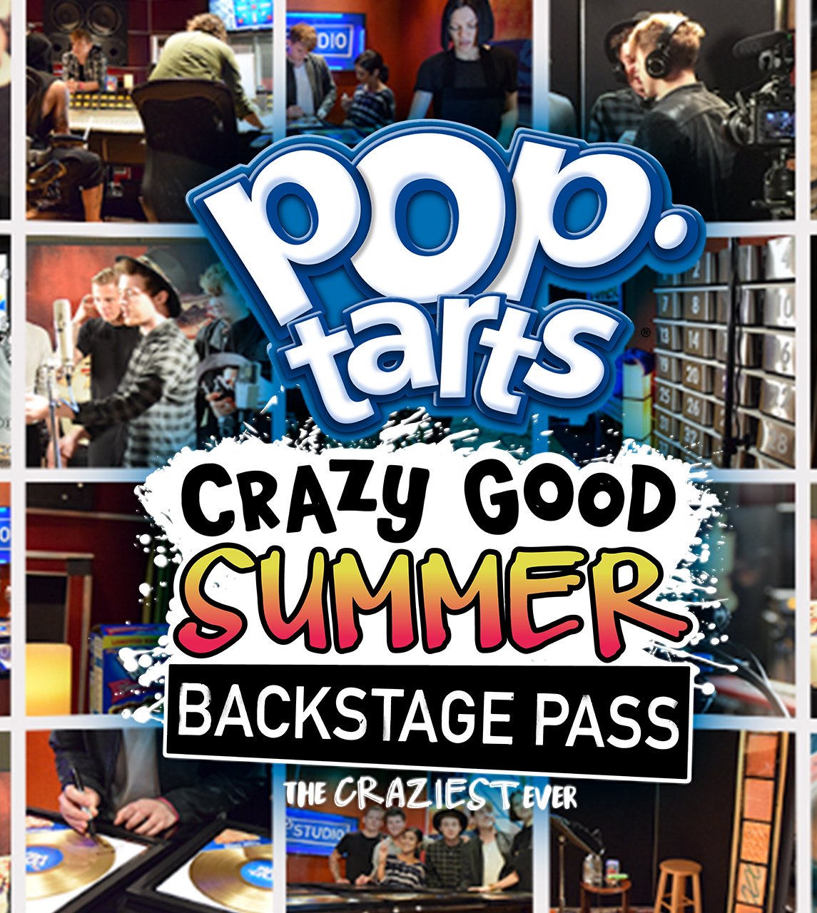 Project 1 poptarts backstage pass