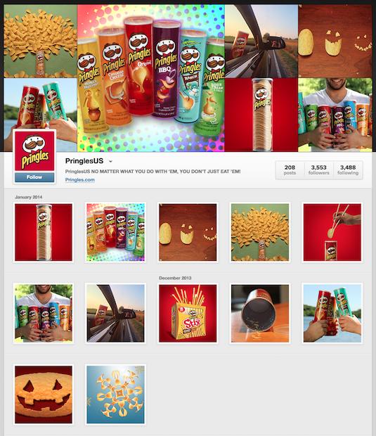 Pringles instagram