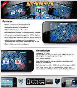 Bot Blaster App Page