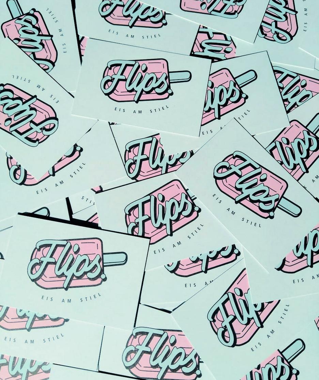 Flips. Eis am Stiel