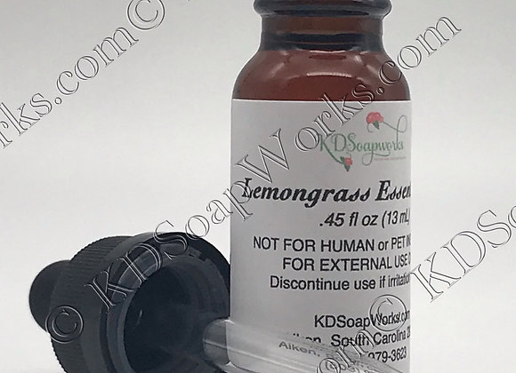 Essential Oil - Lemongrass (Organic)