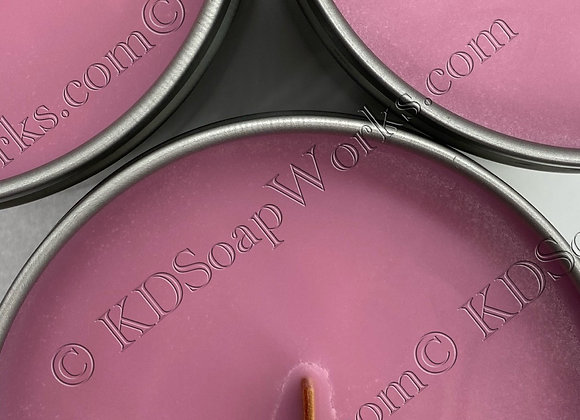 Soy Wax Candle - 6 oz Berry Vanilla