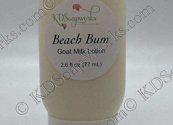 Goat Milk Lotion - Beach Bum